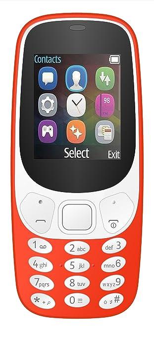 IKALL K3310 1.8 inch Display Mobile  Red  Smartphones   Basic Mobiles