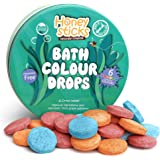Honeysticks All Natural Bath Colour Tablets for Kids - Non Toxic Bath Colour Drops Made with Food Grade Ingredients…