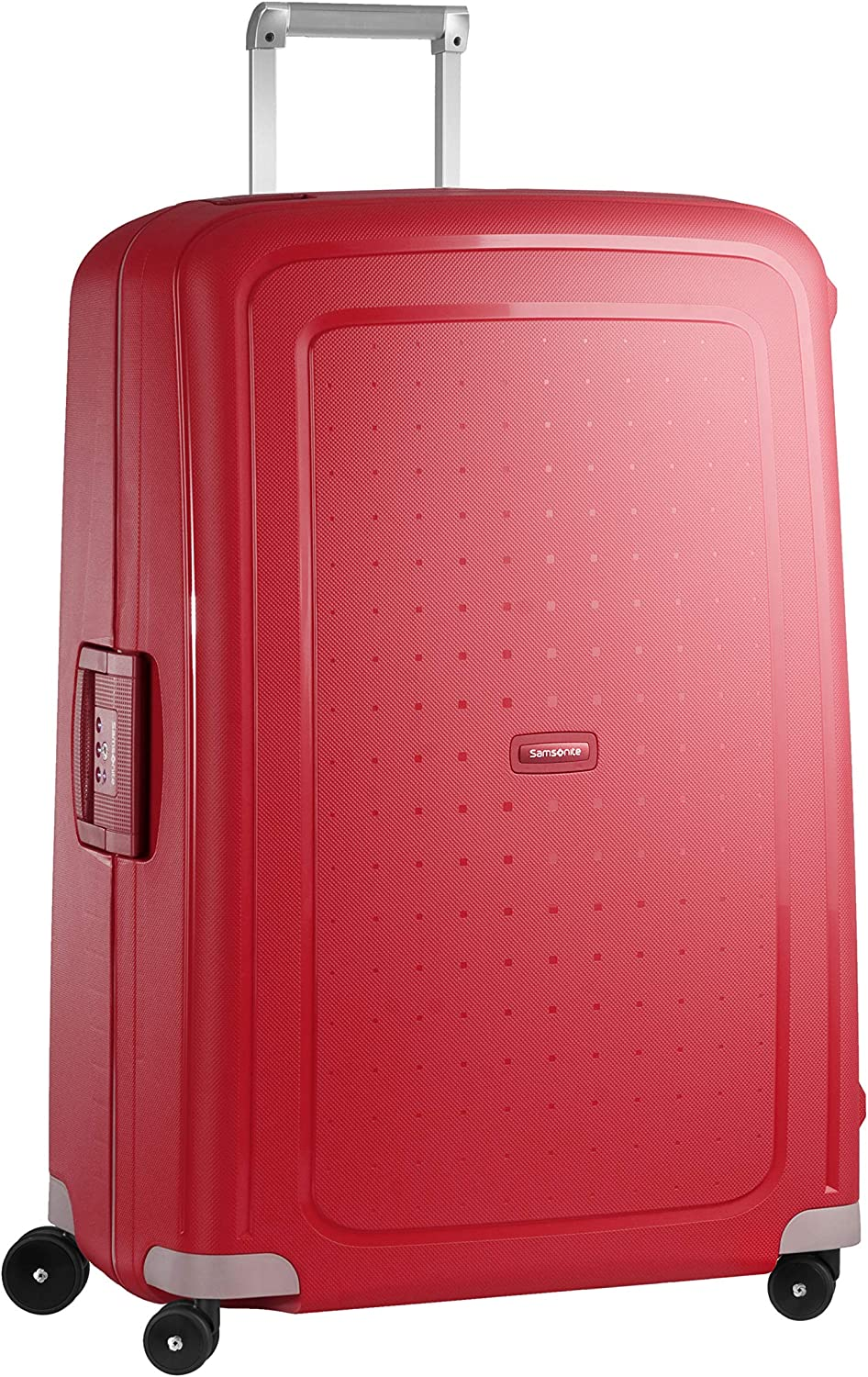 Samsonite S'Cure Spinner XL Maleta, 81 cm, 138 L, Rojo (Crimson Red)