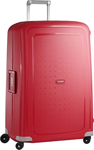Samsonite Suitcase, CRIMSON RED