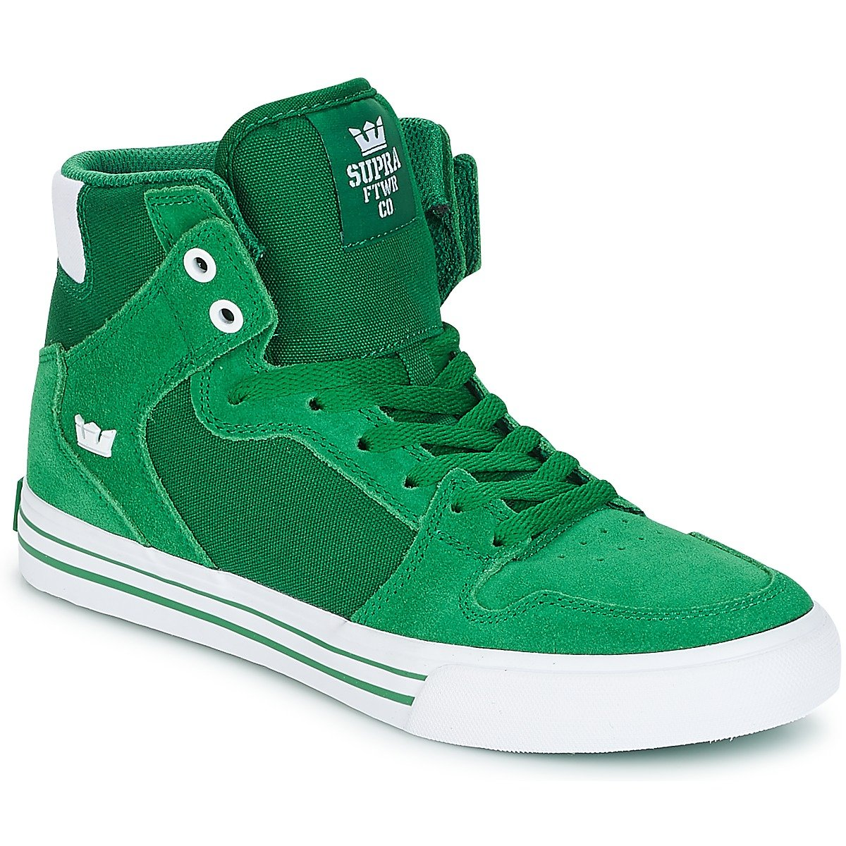 Supra Vaider LC Sneaker B074KKXW8Q 16 M US|Green/White