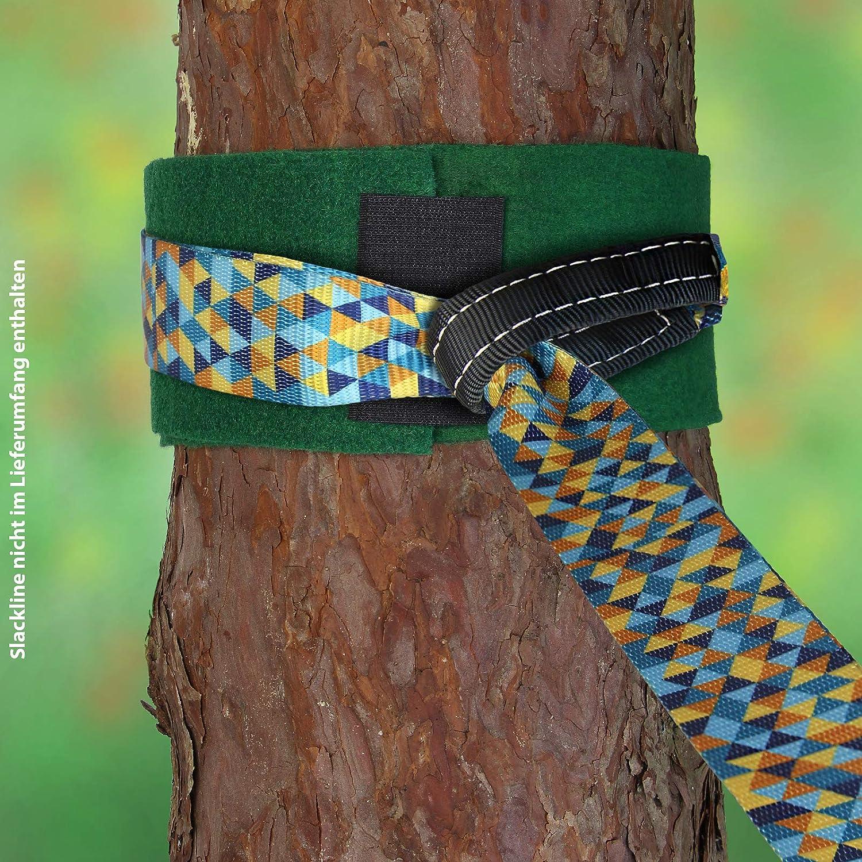 ALPIDEX 2 x Baumschutz f/ür Slackline