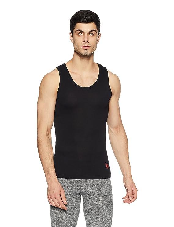 U.S. Polo Assn. Men's Cotton Vest Men's Underwear Vests at amazon
