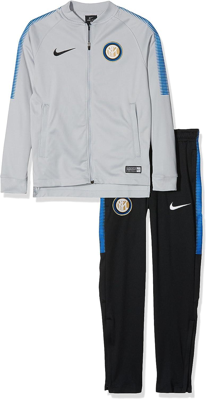 Nike Inter M Dry SQD TRK Suit K Conjunto Chandal, Hombre, Gris ...