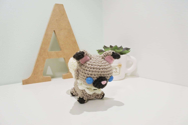 Chaveiro Amigurumi Pug | Lobo Centro Criativo | 1000x1500