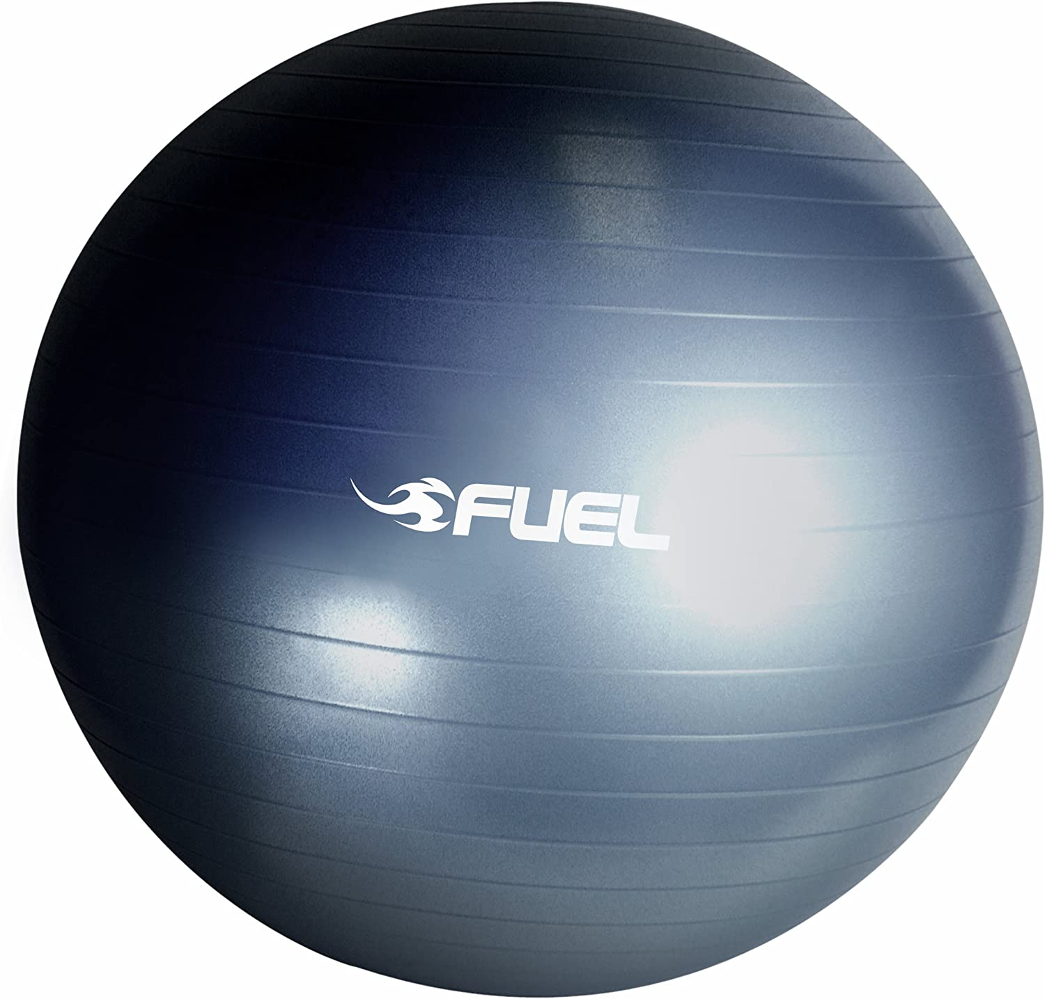 CAP Barbell Fuel Performance Premium Anti-Burst Gym Ball, 65cm