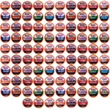 """Beantown Roasters K-Cup Variety Pack made up of 11 Artisan Coffees """"No Decaf"""" for Keurig, Pack of 96"""