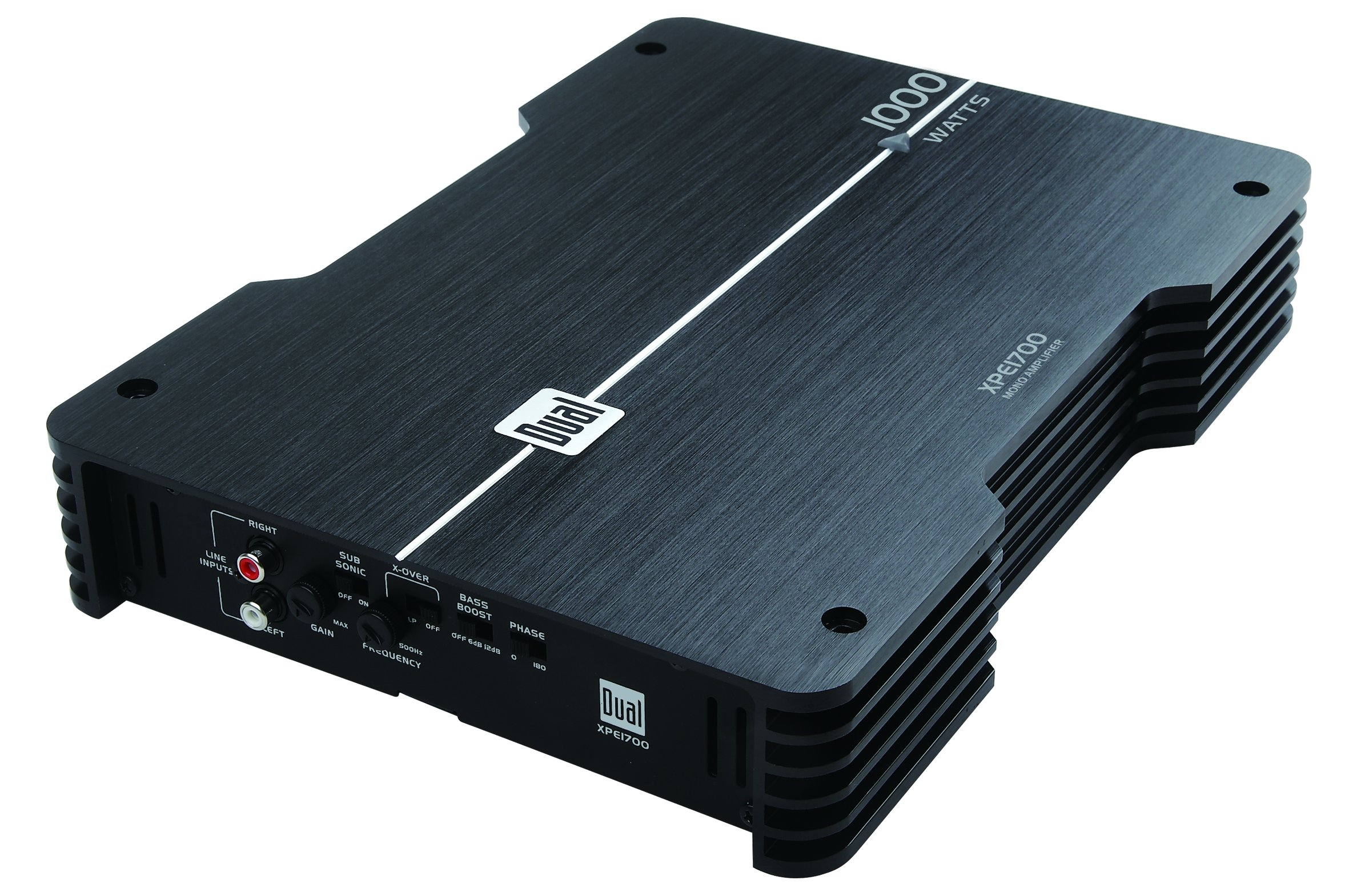 Dual Electronics XPE1700 High Performance MONO Channel Power MOSFET Class A/B Car Amplifier with 1000-Watts Dynamic Peak Power by Dual (Image #2)