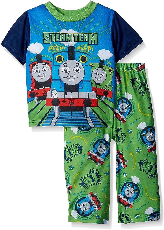 Thomas /& Friends Steam Team 4 piece Cotton Boys Pajama Set