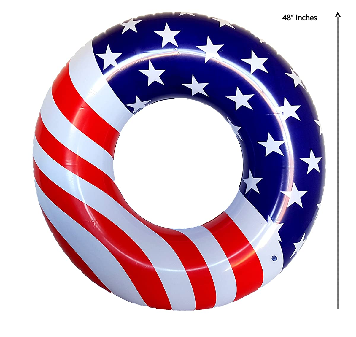 Playscene Giant American Flag Pool Float
