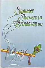 Summer Showers in Brindavan 1993 Paperback