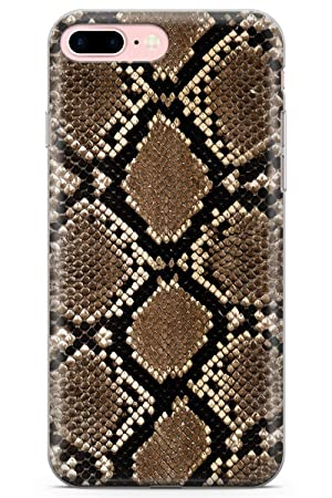 new arrival 91035 9e7d0 iPhone 7 Plus Case, iPhone 8 Plus Case, Snakeskin Phone Case by Casechimp®  | Clear Ultra Thin Lightweight Gel Silicon TPU Protective Cover | Animal ...