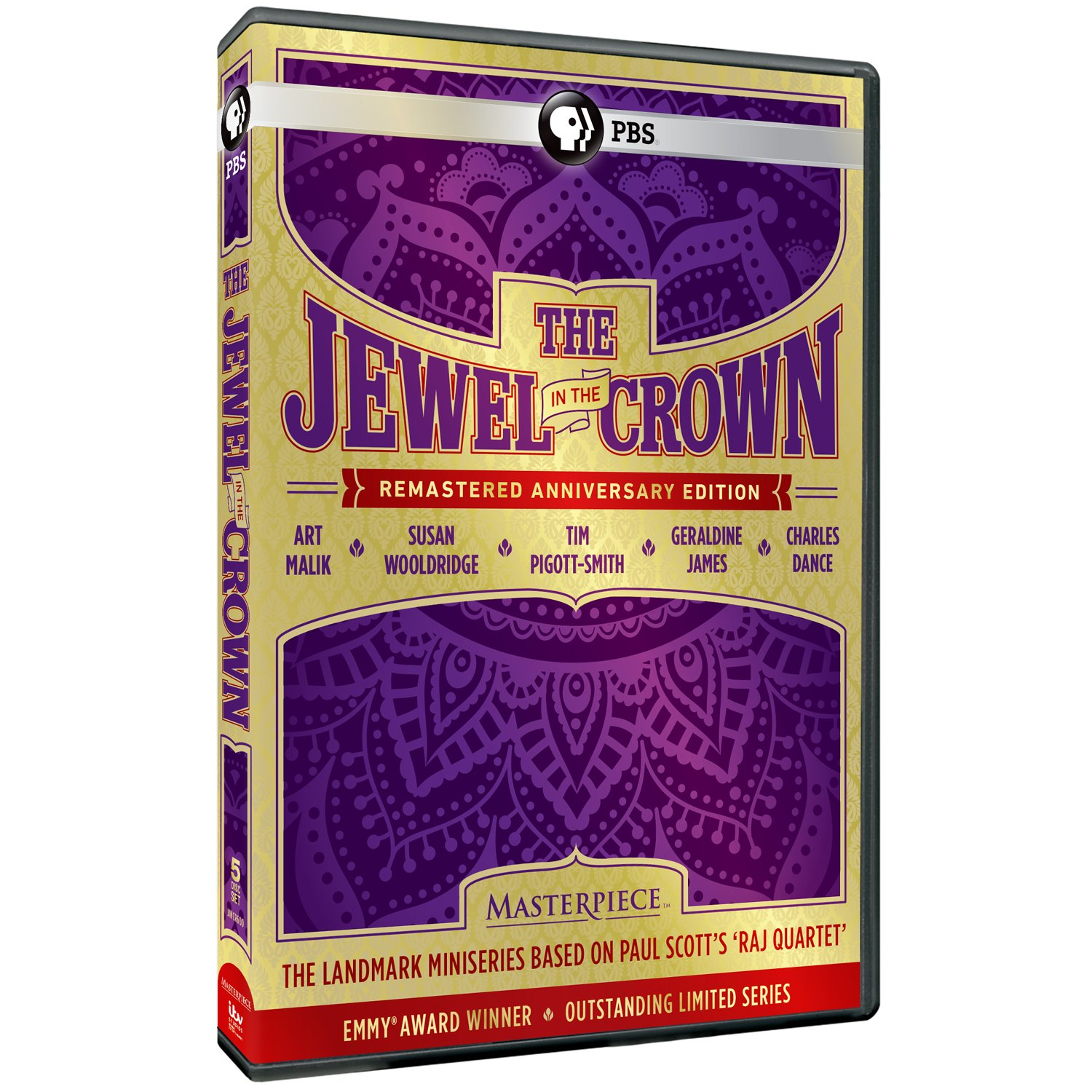 DVD : The Jewel in the Crown (DVD)