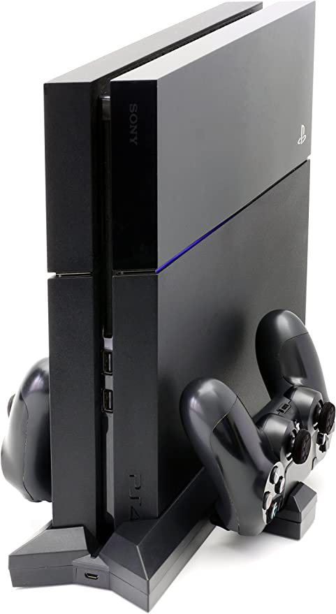 MyGadget PS4 Soporte Vertical para Consola Playstation 4 Slim con ...