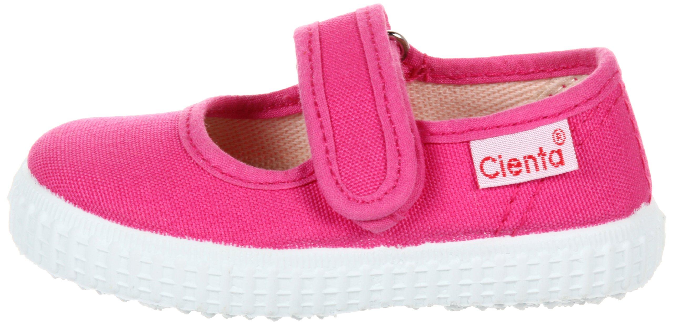 Cienta Girls Mary Jane Shoe, Fuchsia, 19 M EU / 3.5 M US Toddler by Cienta (Image #5)
