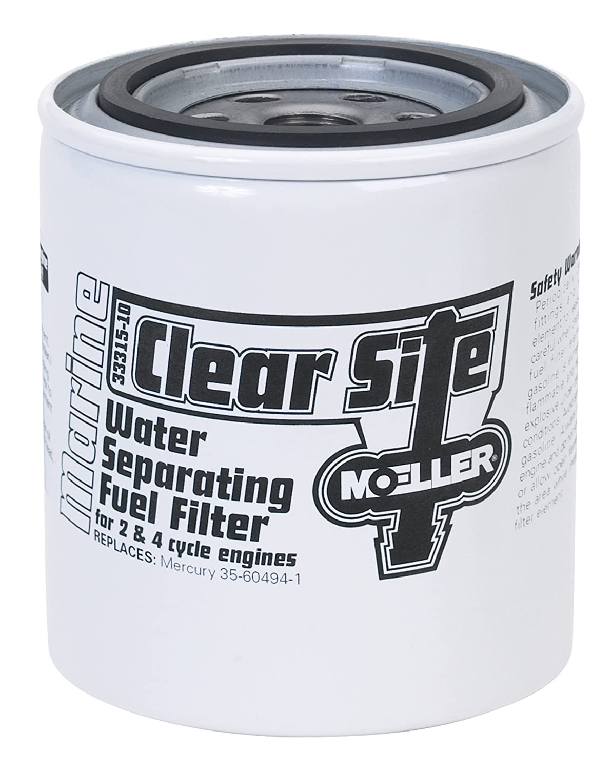 Moeller H2o Fuel Filter Can Only 033315 10 Boat F250 Drain Leak Filters Sports Outdoors
