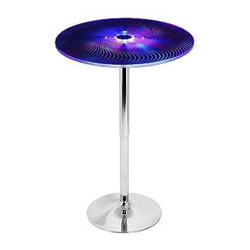 Stupendous Lumisource Spyra Led Light Up Bar Table Amazon Co Uk Frankydiablos Diy Chair Ideas Frankydiabloscom