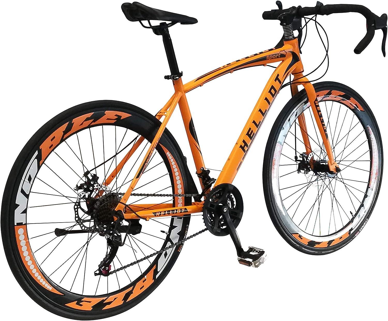 Unisex Helliot Bikes Sport 03 Rennrad f/ür Erwachsene