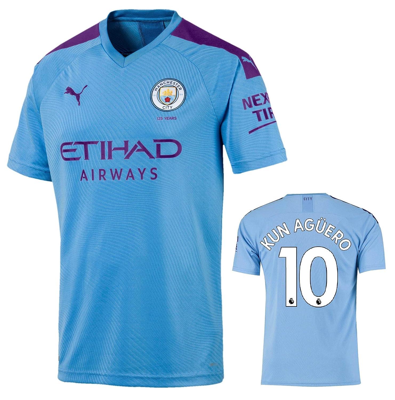 Manchester City Maglia Kun Aguero 2019-20 Adulto o Bambino