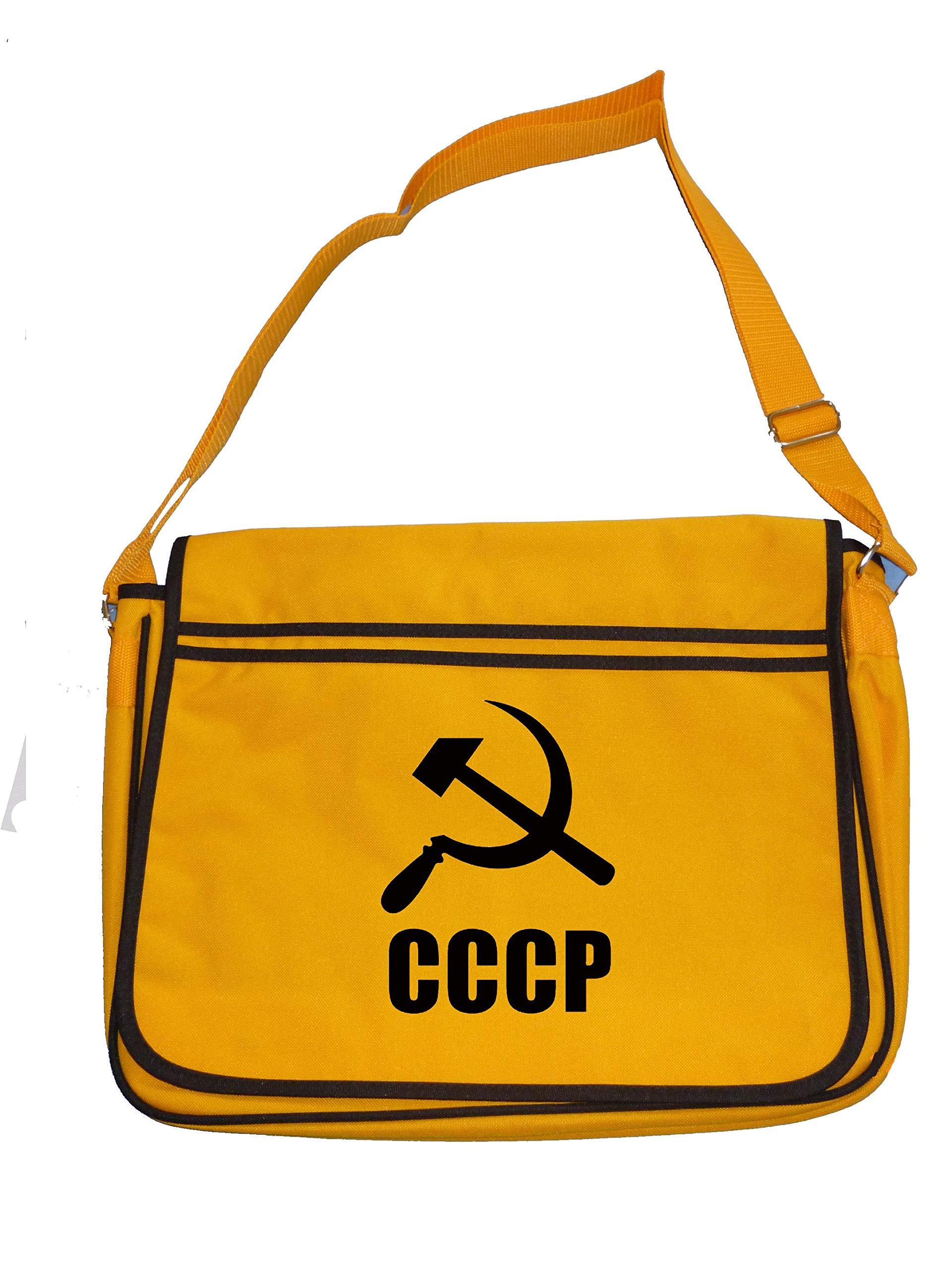 Russian Hammer and Sickle Communist Symbol  Men/'s Messenger Shoulder Bag CCCP