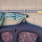 Amazon Com Aquatix Pro Pool Pole Hanger Premium 2pc