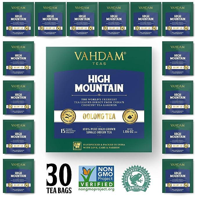 Himalayan Oolong Tea (30 Bolsitas de té) - 100% de té de desintoxicación