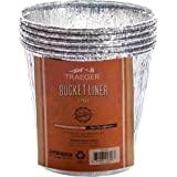 Traeger Grills BAC407z 5-Pack Bucket Liner, Basic Pack