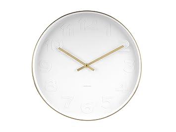 Karlsson Uhren karlsson geräuschlose uhren ka5679 amazon de uhren