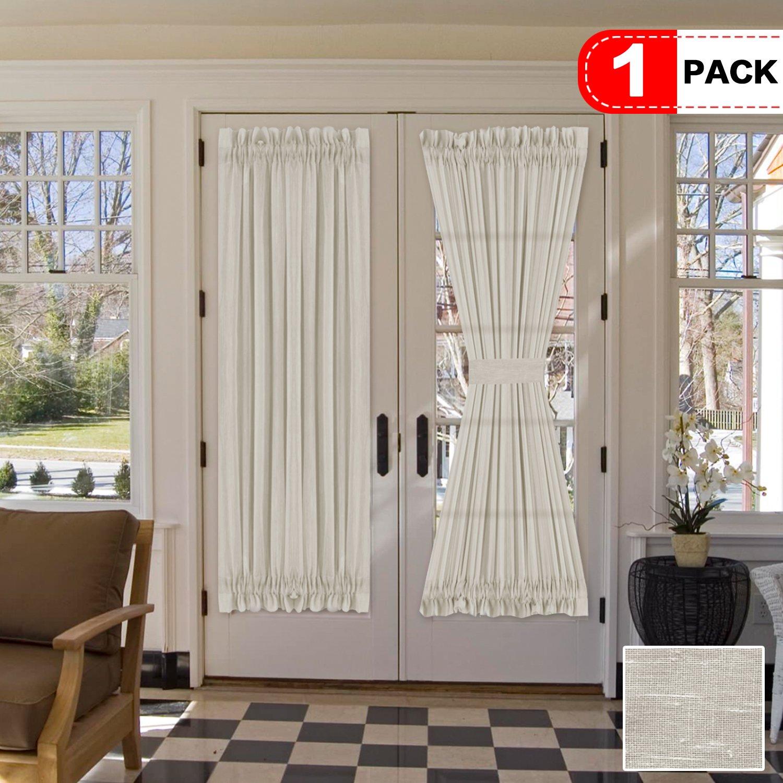 Amazon Com H Versailtex 72 Inch Length French Door Curtains Light