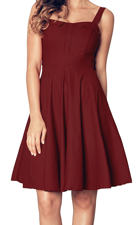 c1fc081f8d5e Amazon.com: Angerella Vintage Evening Party Cocktail Dress: Clothing