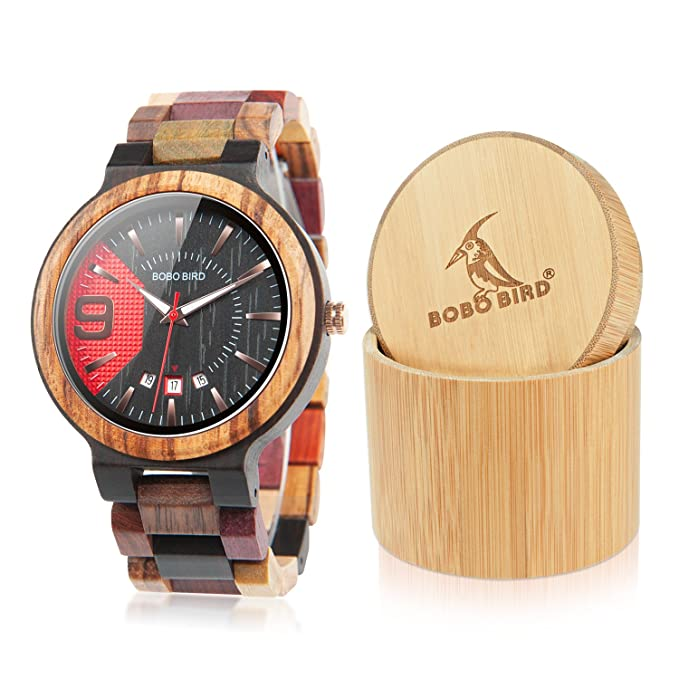 Bodo bird Wood Watch
