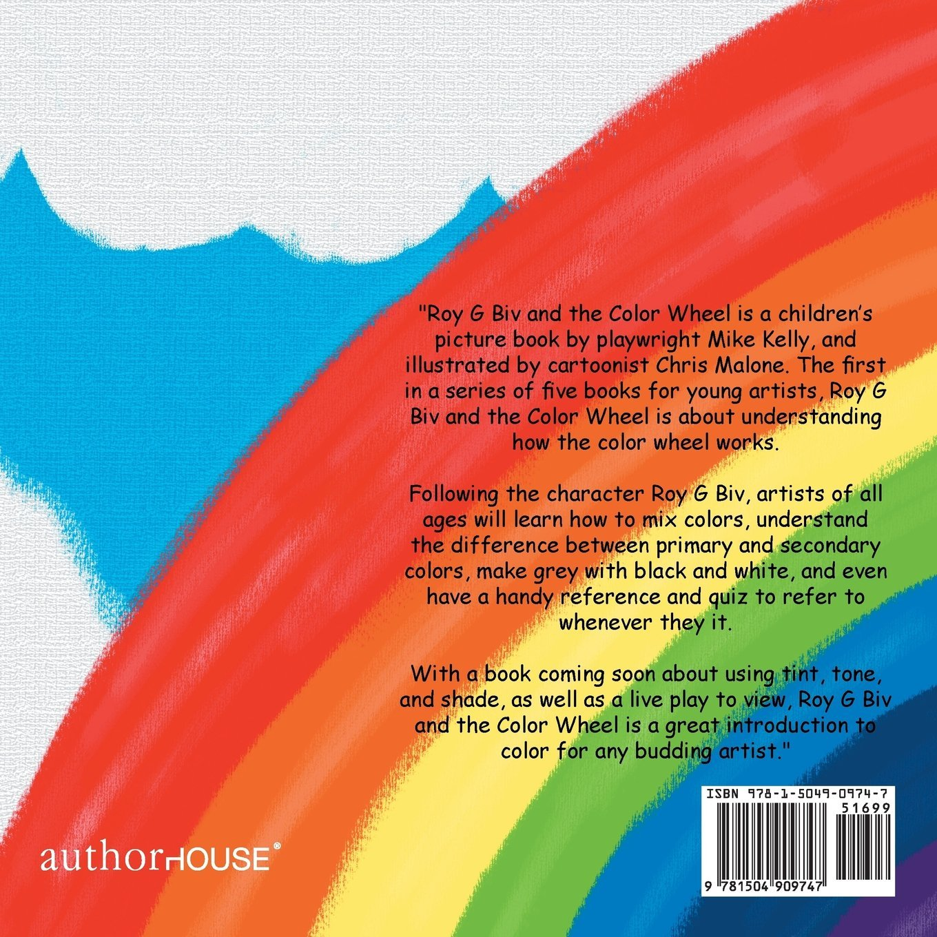 Roy G Biv and the Color Wheel: Mike Kelly: 9781504909747: Amazon.com ...