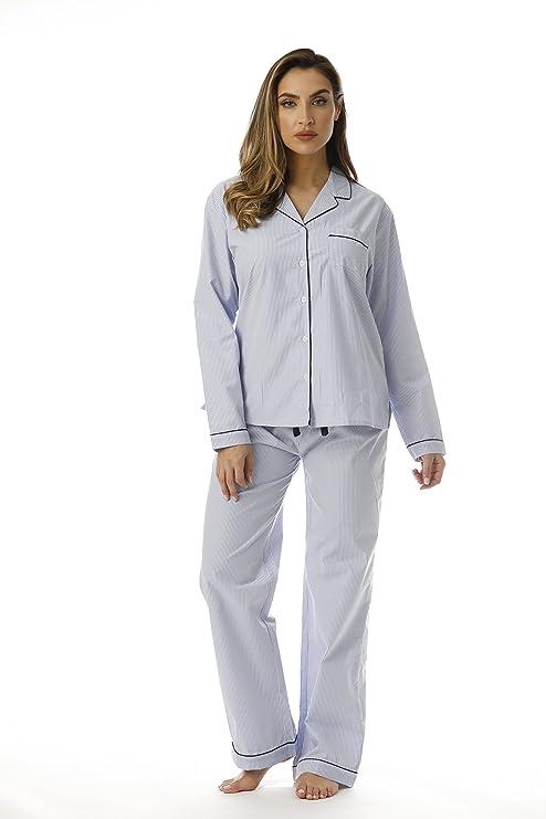 Striped Long Sleeve Pajama Pants