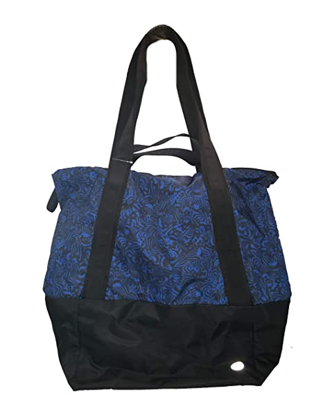 Amazon.com | Lululemon Hot Moves Totesw Cbcc/Blk Polyester ...