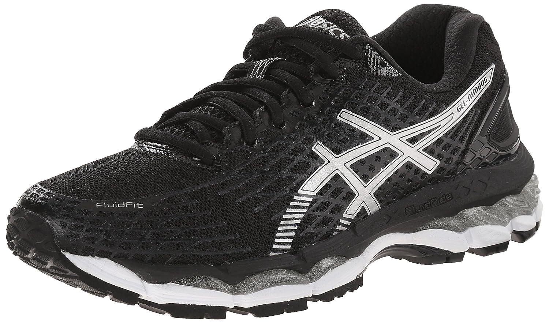 5f28262f396f ASICS Women s Gel-Nimbus 17 Running Shoe Black Silver Onyx 6 B(M) US   Amazon.in  Shoes   Handbags
