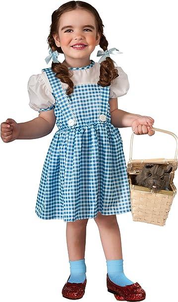 Rubies Disfraz de Dorothy para niña - 1-2 años - 6-12 meses ...