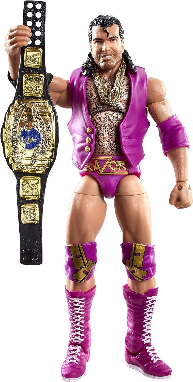 WWE Mattel Elite Defining Moments RAZOR RAMON Wrestling Figure Scott Hall