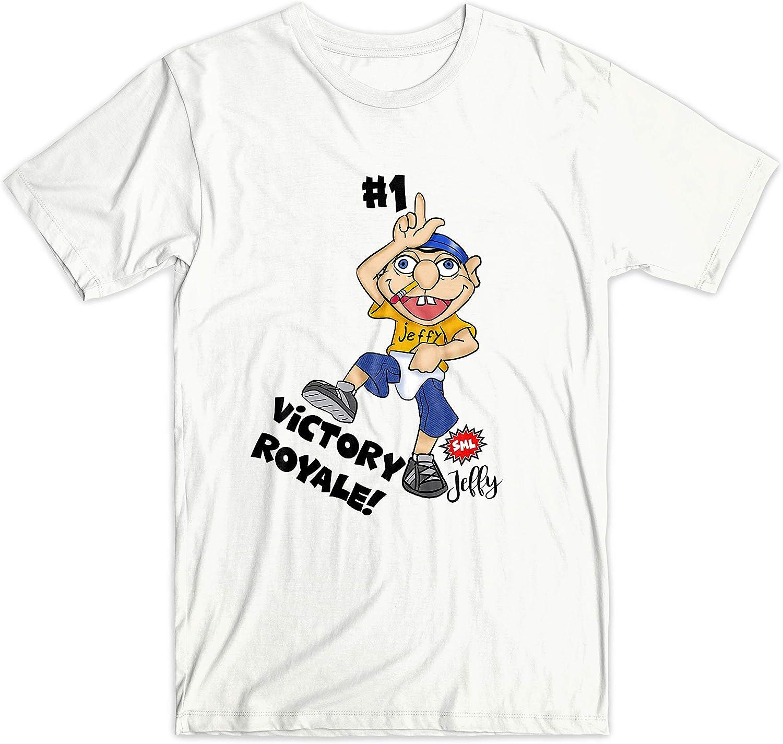 Jeffy Puppet Cartoon Kids T-shirt You tuber Boy Girl Children Top