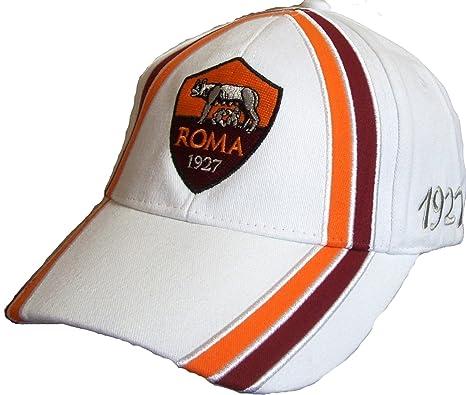 ea34c52a5f CAPPELLO ROMA CAPPELLINO UFFICIALE BERRETTO con VISIERA biancostr ...