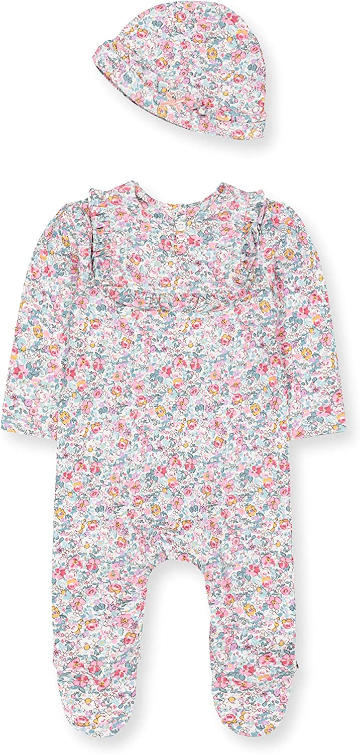 Mothercare Baby Nb Pf Floral Aio and Hat