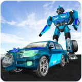 car robot transformer - Cruiser Transformer Robot Fighting City Hero