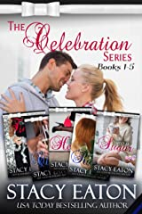 The Celebration Series, Part 1: Tangled in Tinsel, Tears to Cheers, Heathens to Hearts, Rainbows bring Riches and Sweet as Sugar (The Celebration Series Box Set) Kindle Edition