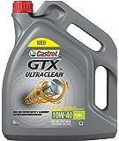 Castrol Limited 15A4D5 GTX Ultraclean 10W-40 A3/B4 5L, Grey, 5 L