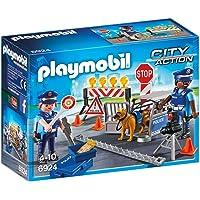 Playmobil - 6924 - Jeu - Barrage de Police