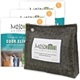 MOSO NATURAL: The Original Air Purifying Bag. 300g Stand Up Design (3 Pack). for Closets, Bathrooms, Pet Areas. an Unscented,