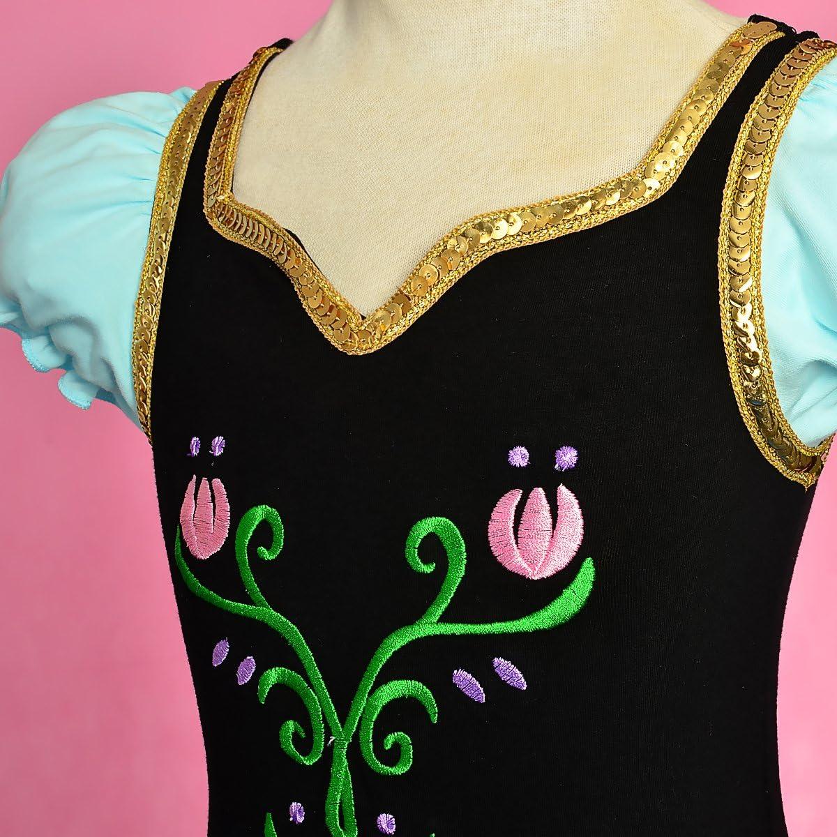 Dressy Daisy Girls Princess Tulip Ballet Tutus Dancewear Costume Blue