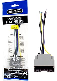 dnf wiring harness for aftermarket stereos + radios for select chrysler  dodge jeep vehicles (70