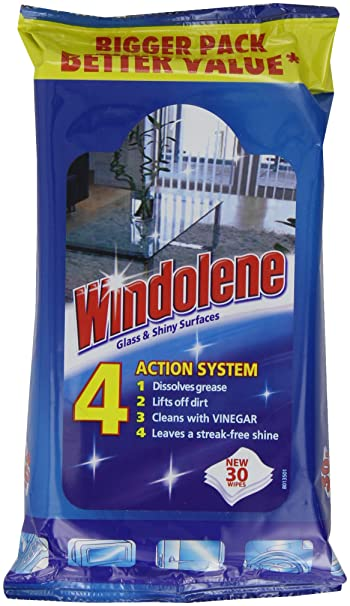 Windolene Toallitas de limpieza (4 unidades)