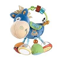 Playgro Toy Box Pferd Klipp Klapp blau