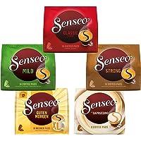 Senseo Pads, Probierbox mit 5 Sorten, 66 Kaffeepads, 5er Vielfaltspaket
